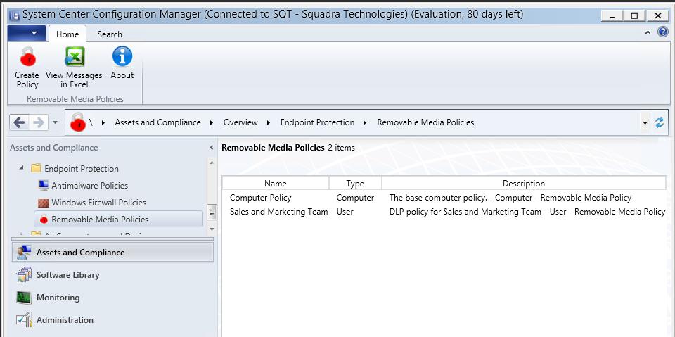 squadra technologies secRMM Features